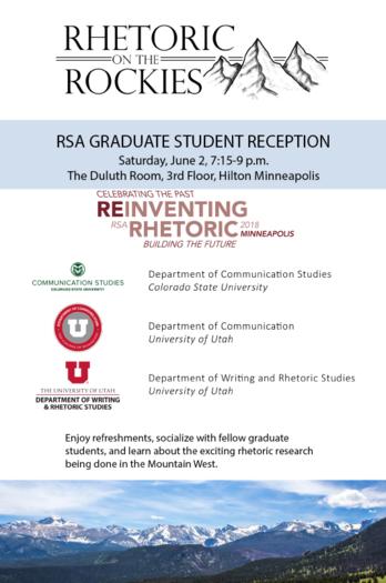 RSA Graduate Student Reception