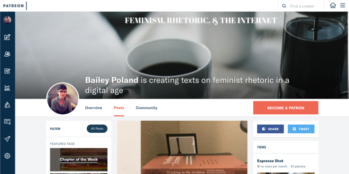 Feminism, Rhetoric, & the Internet